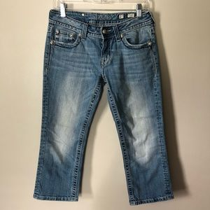 Miss Me Capri Jeans Bling JP5335P 27